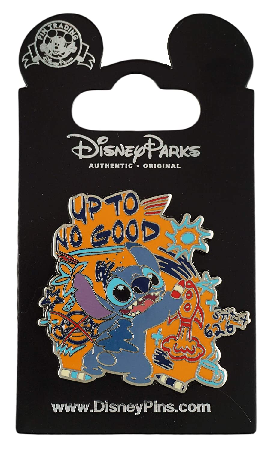Disney Pin - Stitch - Up to No Good