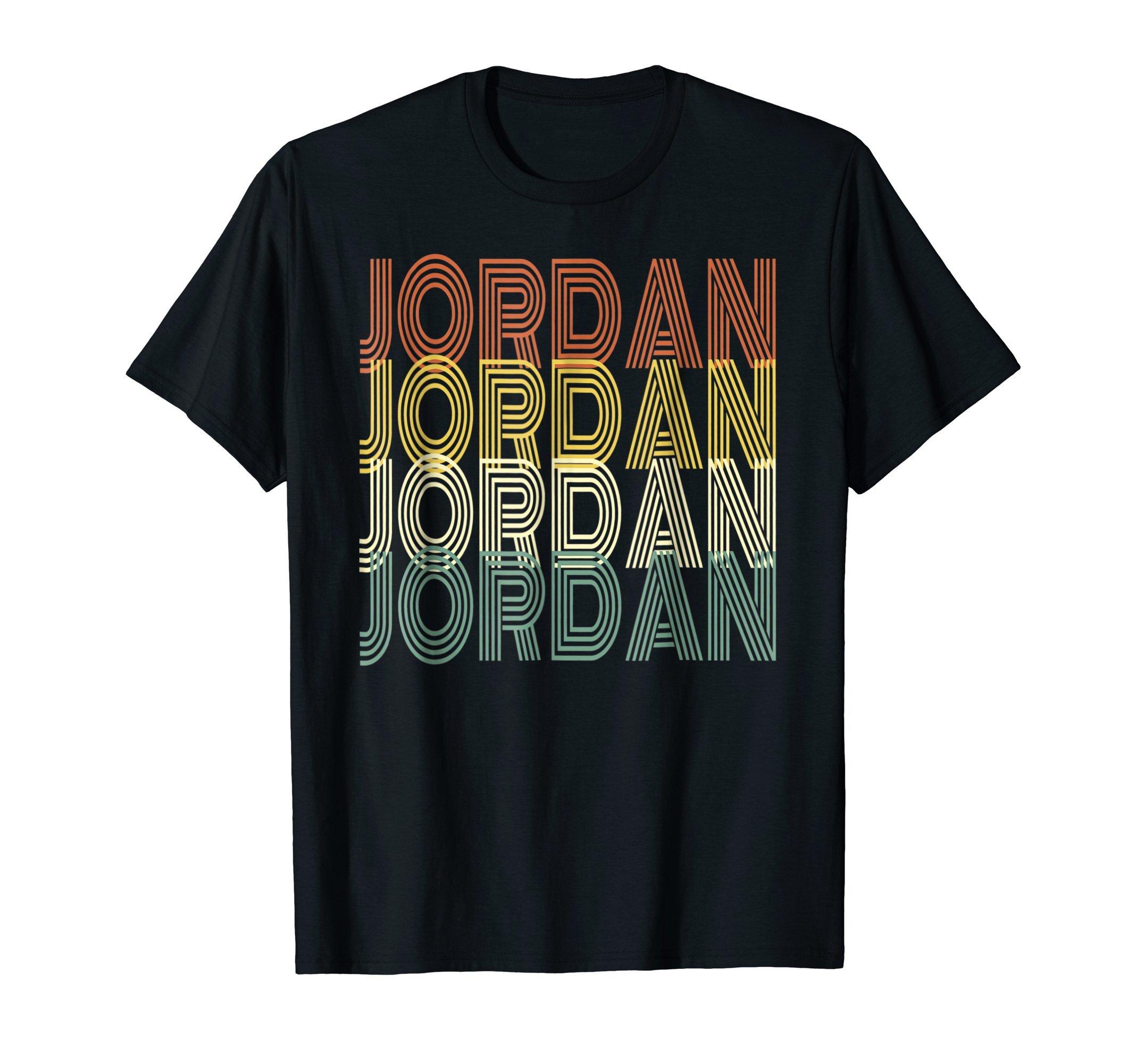 Jordan Vintage 1980s Style Retro Jordan T-Shirt