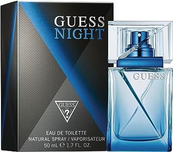 d8de92190105 Guess Night Eau de Toilette Spray for Men, 1.7 Ounce