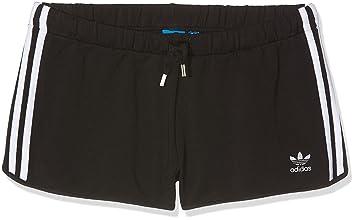 Hose Adidas Shorts Schwarznegro28 Slim Kurze Damen OXiTPkZu