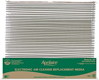 product image for Aprilaire 501 Replacement Furnace Air Filter for Aprilaire Whole Home Electronic Air Purifier Model: 5000, MERV 16, Allergy, Asthma, & Virus Air Filter (Pack of 10)
