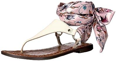 bd4bddaab64 Sam Edelman Women s Giliana Flat Sandal Modern Ivory 11 ...