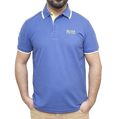 Hugo Boss Green Label Paddy Pro - Polo para hombre azul: Amazon.es ...
