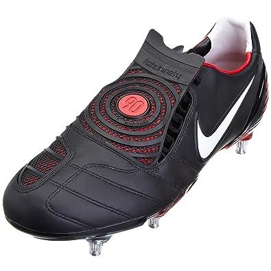 the latest f12ff d5593 Nike Men s Total 90 Laser K-Sg Black White Red Football Boot 328290