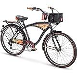 """Huffy 26"""" Panama Jack Men's Beach Cruiser Bike, Black"""