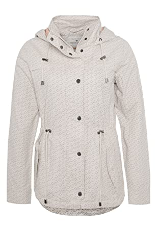Fresh Made Damen leichte Übergangsjacke aus Baumwolle mit Kapuze  Frühlingsjacke  Amazon.de  Bekleidung 1db9ae410f