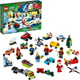 LEGO City Advent Calendar 60268 Playset, Includes 6 City Adventures TV Series Characters, Miniature Builds, City Play…