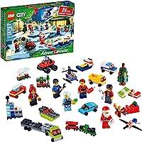 LEGO City Advent Calendar 60268 Playset, Includes 6 LEGO City Adventures TV Series Characters, Miniature Builds, City…