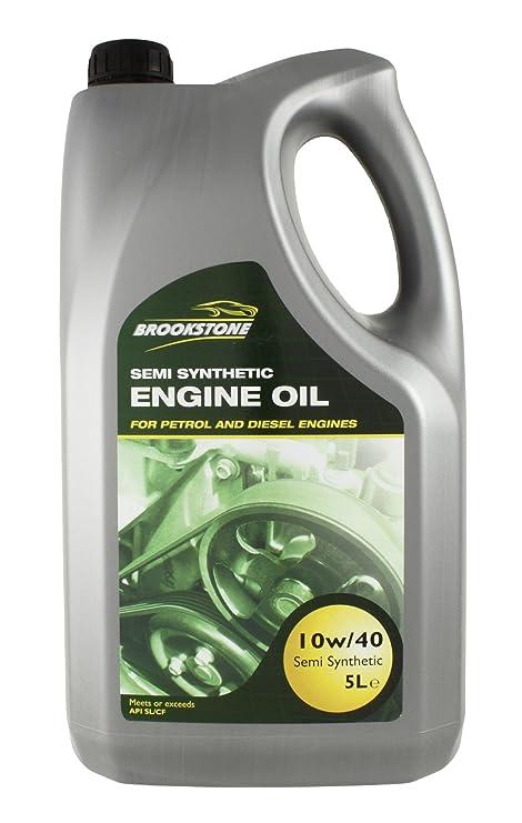 Brookstone 5L 10/40 W aceite semisintético para motores de gasolina/diesel