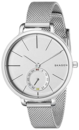Amazon.com  Skagen Women s SKW2358 Hagen Stainless Steel Mesh Watch ... 98f5669d654