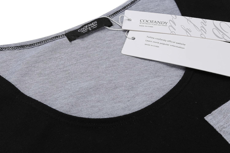 Bridene Mens Vest Tank Tops Patchwork Summer Casual Sleeveless T-Shirt Gym Training Top