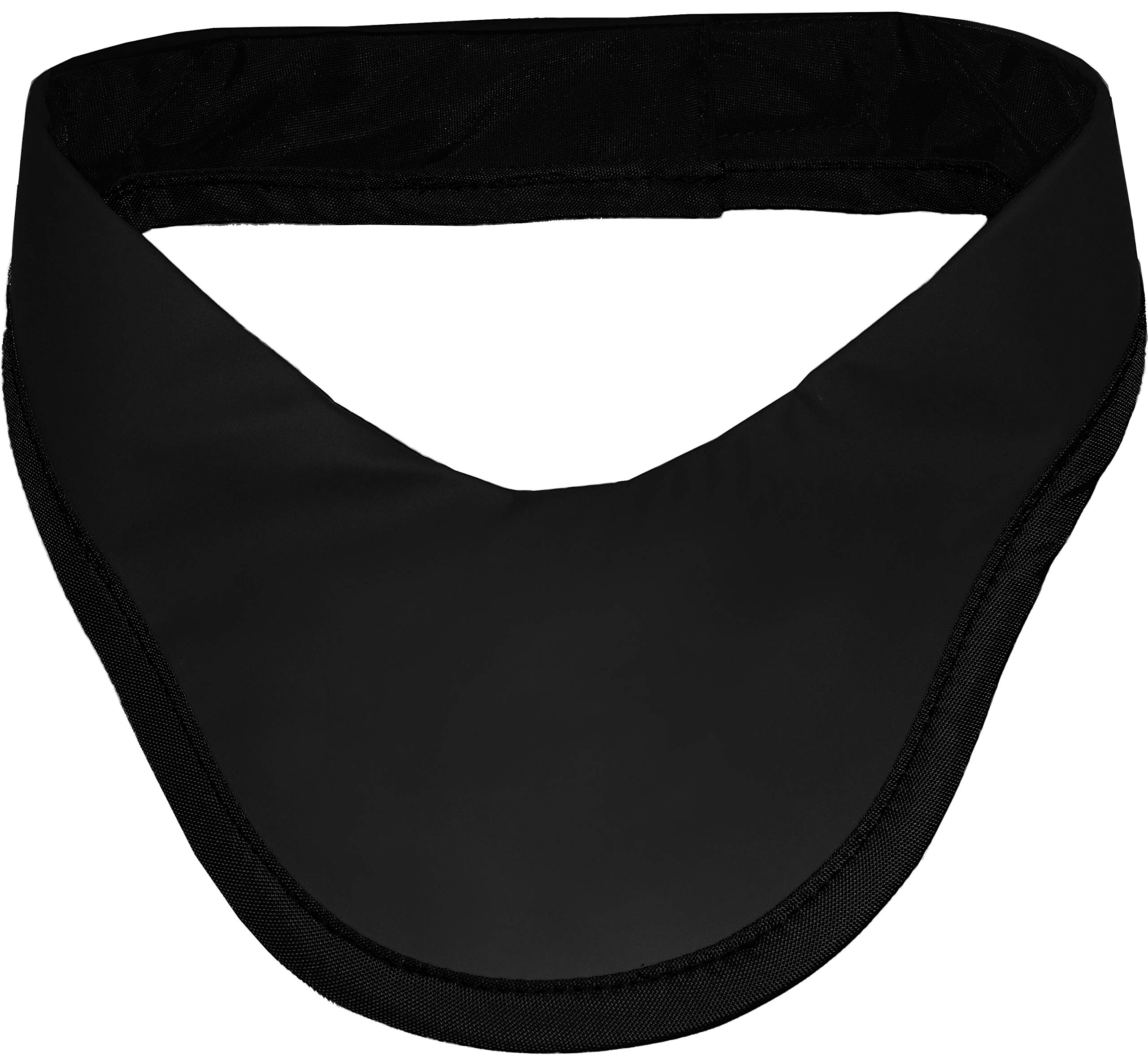 Radiation Protection Thyroid Collar Lead Free Antibacterial Stain Resistant - Black