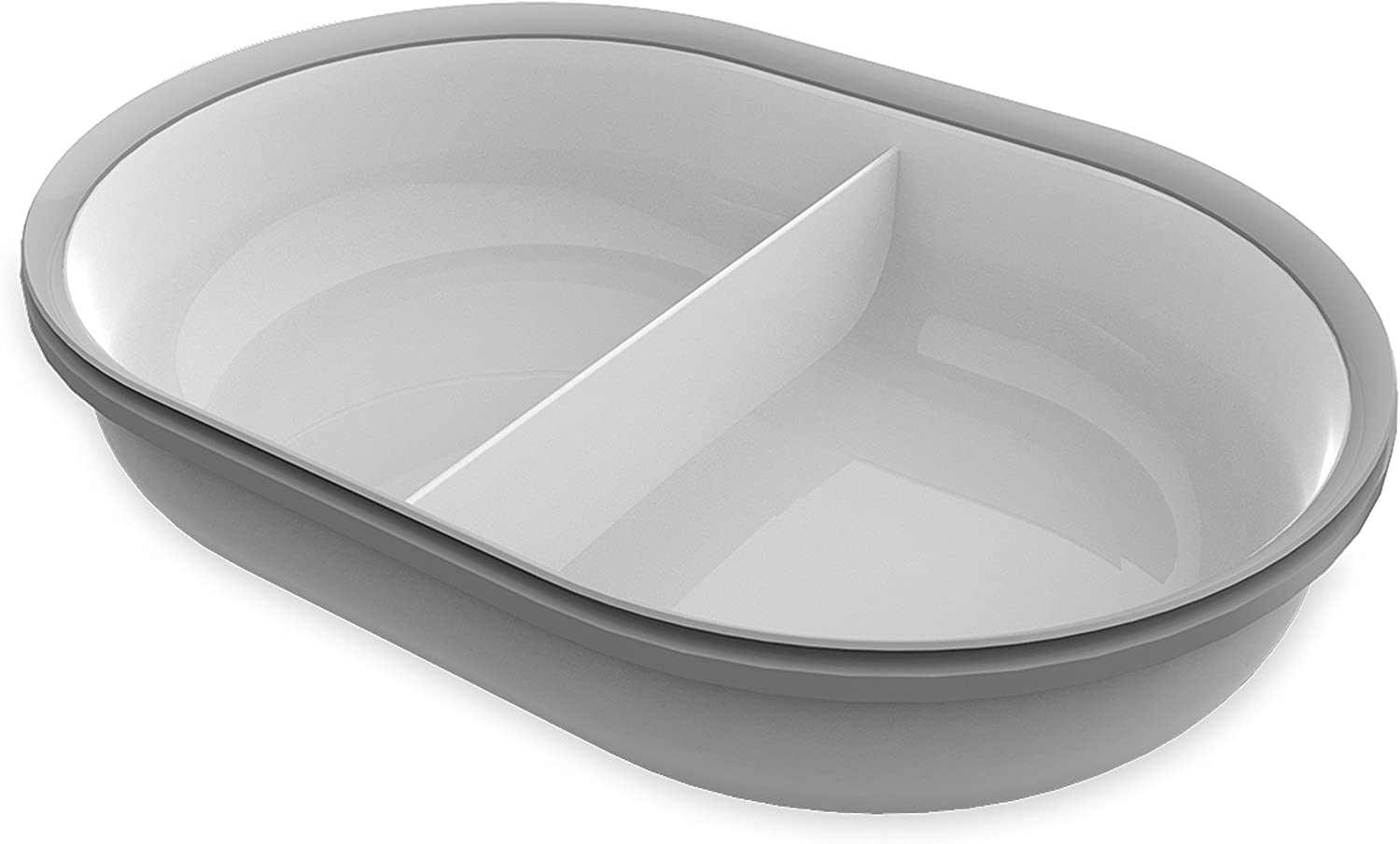 SureFeed Split Bowl, Grey