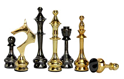 Amazon Com Stonkraft Collector Edition Brass Chess Pieces Pawns