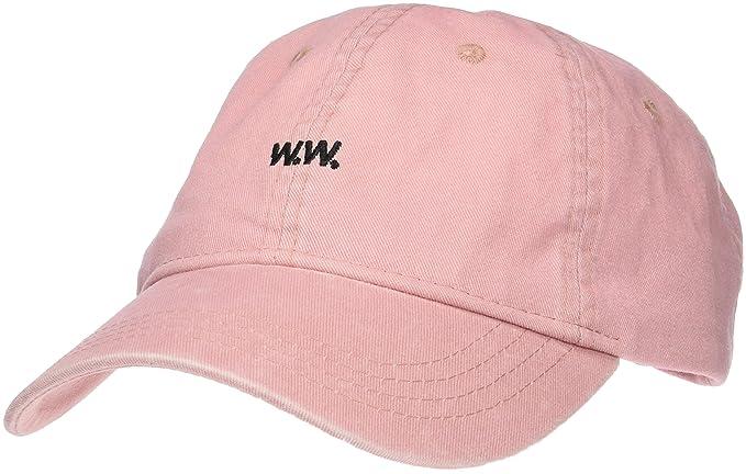 98690d8dd4666d Wood Wood Men's Low Profile Cap Baseball Cap, Pink (Peach Beige), One