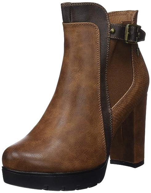 Refresh 64649, Botines para Mujer, Marrón (Camel), 38 EU: Amazon.es: Zapatos y complementos