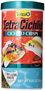 TetraCichlid Cichlid Crisps Advanced Clear Water Formula