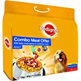 Pedigree Adult Mixed Feeding (Dry 3kg + Gravy 4X 80gm) Chicken and Vegetable, 3.32kg