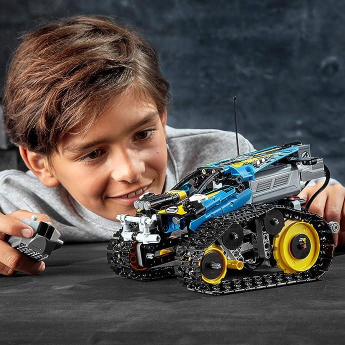 LEGO 乐高 Technic 机械组 42095 遥控特技赛车 积木玩具 8折$79.99 海淘转运到手约¥616