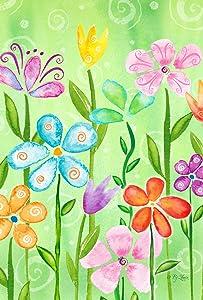"""Toland Home Garden 1110288 Spring Blooms (12.5"""" x 18""""), Garden Flag"""
