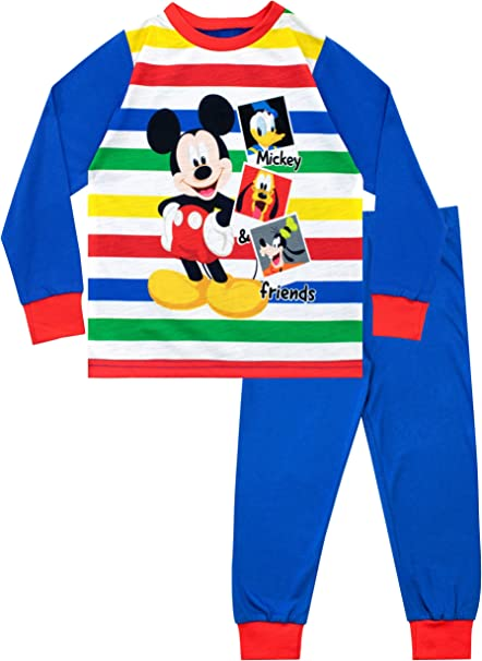 Disney Mickey Mouse Little Boys Blue Pyjamas