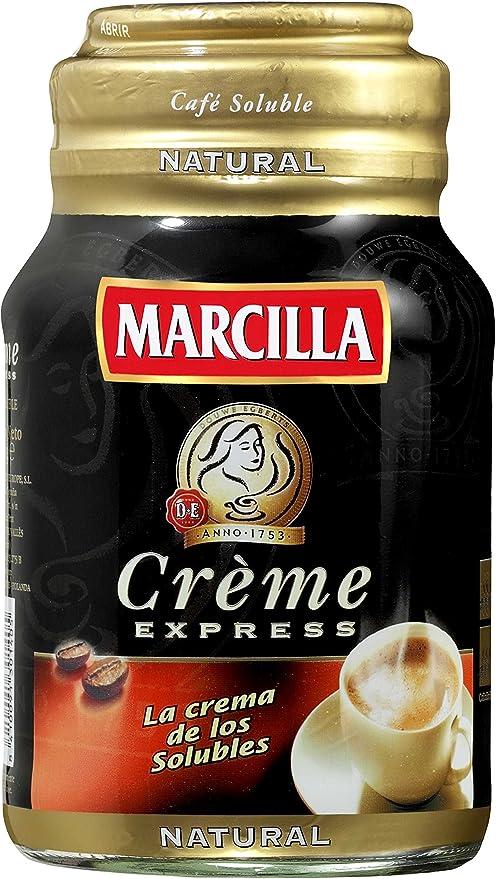 Marcilla - Crème express de café soluble natural - 200 g: Amazon ...
