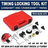 Mophorn Turbo Timing Locking Tool Kit Fit for 2008-2013 Audi VW 2.0 Turbo Timing