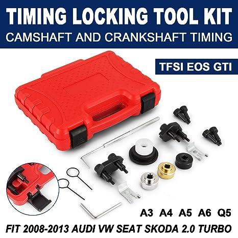 mophorn Turbo maletín con juego de herramientas para bloqueo de ajuste para 2008 – 2013 Audi