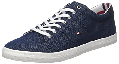 Mens Unlined Cut Nubuck Low-Top Sneakers Tommy Hilfiger