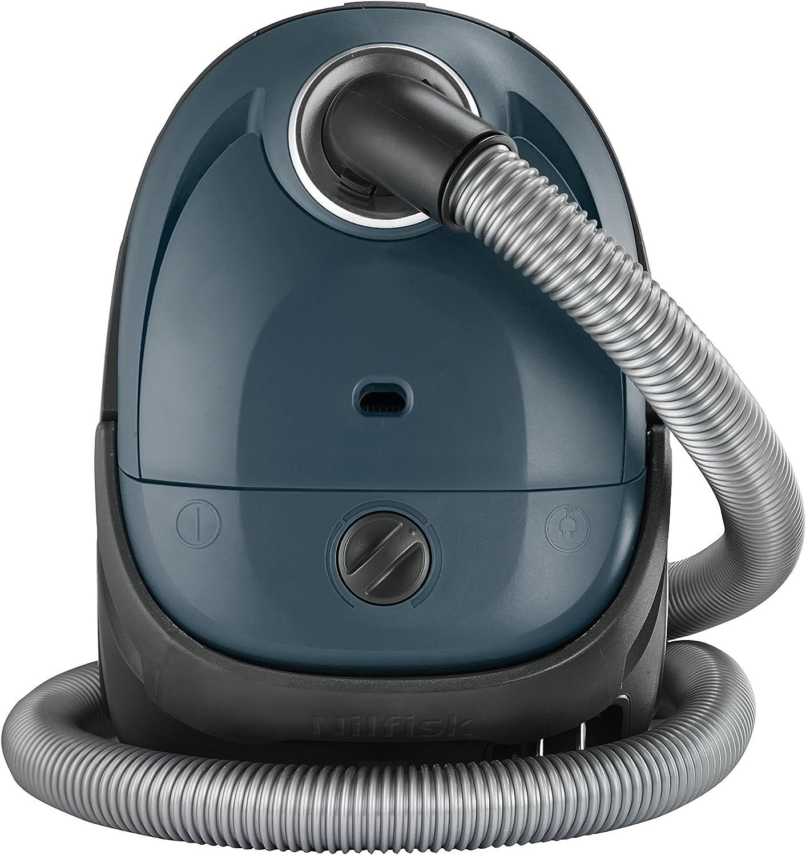 /Aspirapolvere slitta 220/ colore: blu scuro con borsa /240/V Nilfisk 128350593/ 750/W