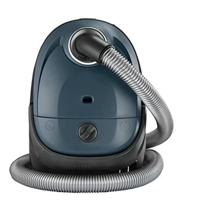 Nilfisk 128350593 Aspirador Trineo, 220-240V, con Bolsa, 750 W, 2.1 litros, 77 Decibelios, Azul Oscuro