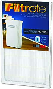 "Filtrete FAPF024 Air Cleaning Filter, 9"" x 15"" - FILTRETE-FAPF02"
