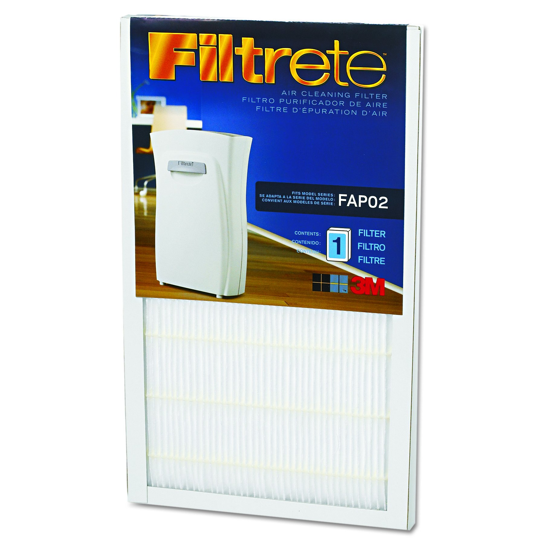 Filtrete FAPF024 Air Cleaning Filter, 9'' x 15''