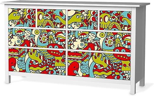 Ikea Hemnes Cassettiera 8 Cassetti.Creatisto Stampa Schermo Adesivo Per Ikea Hemnes Como 8 Cassetti