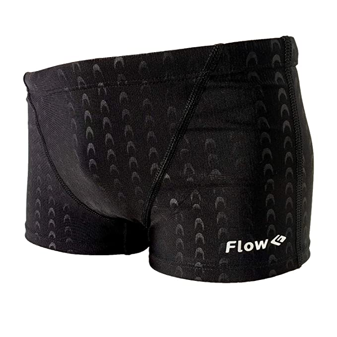 01509c2b59 Flow Square Leg Swimsuit - Boys Youth Swim Shorts Sizes 24 to 30 in Black  and