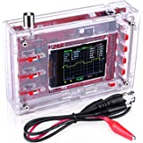 Quimat Handheld Pocket-size Digital Oscilloscope Kit + Case / Open Source 2.4 inch TFT 1Msps with Probe Assembled Vision DSO138