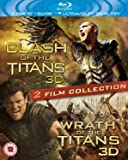 Clash of the Titans 3D / Wrath of the Titans 3D [Blu-ray + Blu-ray 3D]
