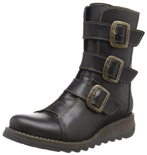bd14adfbd58 Fly London Women s Scop110fly Biker Boots  Amazon.co.uk  Shoes   Bags