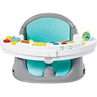 Infantino Music & Lights 3-in-1 Discovery Seat and Booster - Convertible Booster, Infant Activity seat and Feeding Chair…