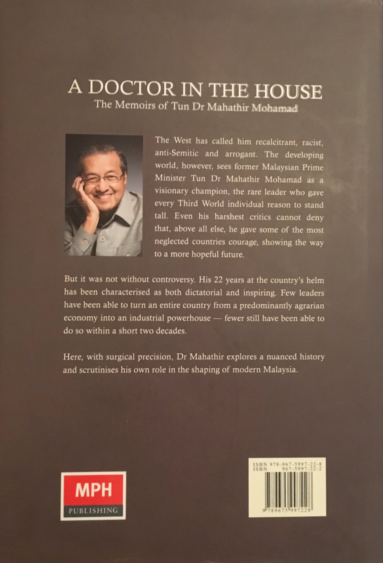 A Doctor In The House Memoirs Of Tun Dr Mahathir Mohamad 9789675997228 Amazon Books