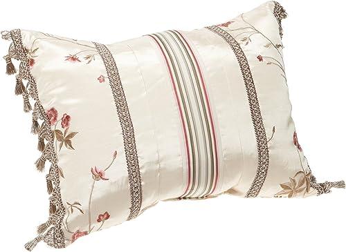 Croscill Rose Garden Boudoir Pillow