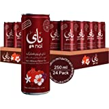 nai Iced tea with hibiscus flower flavor, 24 x 250 ml