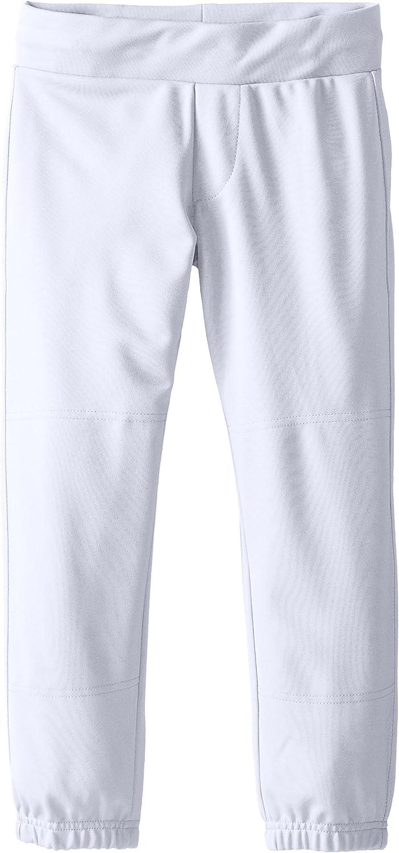 EASTON ZONE Softball Pant, Girl's, XLarge, White