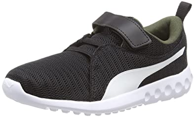 competitive price c1ded d2378 Puma Carson 2 V PS, Chaussures de Fitness Mixte Enfant, Noir Black-Forest