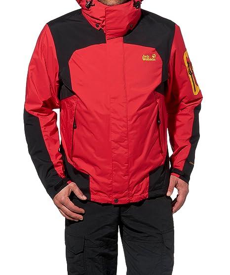 fresh styles biggest discount detailed images Jack Wolfskin Men's 14th Peak 1101552 2590 XL Fire Red, XL ...
