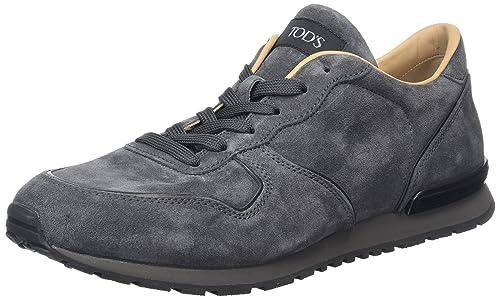 Tods Sneaker Reversed, Mocasines para Hombre, Gris (Ombra 145N), ...