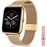 CanMixs Smart Watch for Android Phones iOS Waterproof Smart Watches for Women Men Sports Digital Watch Fitness Tracker…