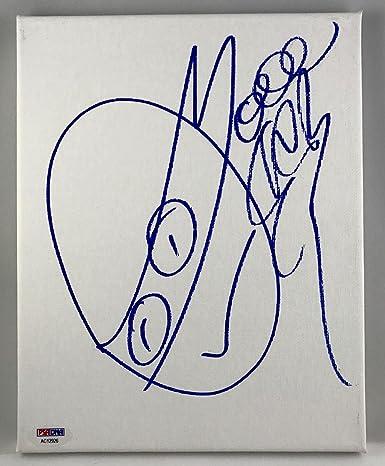 Vanilla Ice TMNT GO NINJA Signed Original 8x10 Sketch On ...