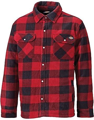 6253de3c3c1 Dickies Portland Padded Shirt Fleece Workwear (SH5000) WARM PADDED LINED  GREEN & NAVY BLUE