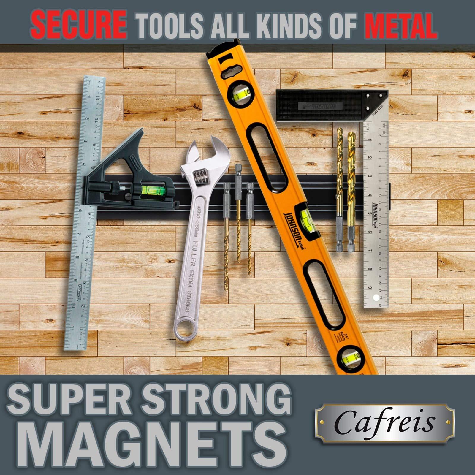 MAGNETO, 13 Inch Plastic Magnetic Knife bar, Knife Holder bar, Magnetic Storage Rack Strip, Magnetic Tool Organizer by Cafreis (Image #7)